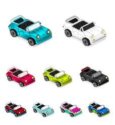 Desktop Icons Set: miniMicros #4 Porsche by