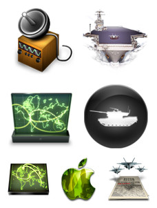 Desktop Icons Set: War on Bad Design by 