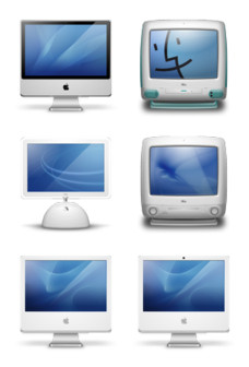 Desktop Icons Set: iMac Generations vol. 2 by 