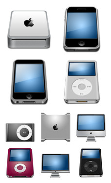 Desktop Icons Set: Hardware MX by
