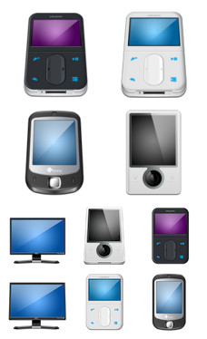 Desktop Icons Set: Hardware MX Plus by