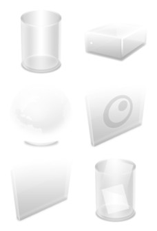 Desktop Icons Set: Ghost System by