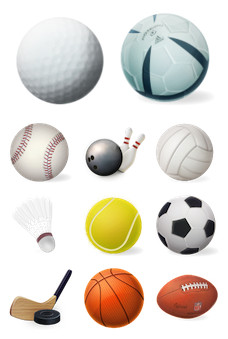 Desktop Icons Set: Sports Illustrated by