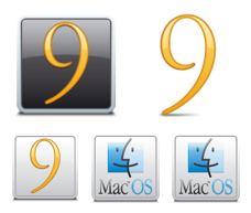 Desktop Icons Set: Classic Mac OS by