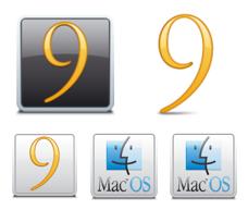 Desktop Icons Set: Classic Mac OS by