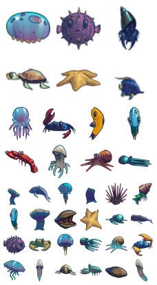 Desktop Icons Set: Icon Sea by