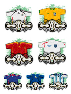 Desktop Icons Set: Das Futebol '06 by