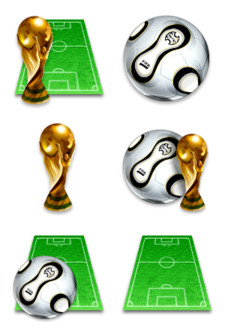 Desktop Icons Set: World Cup 2006 by