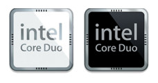 Desktop Icons Set: Intel Core Duo Processor by