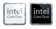 Desktop Icons Set: Intel Core Duo Processor by