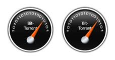 Desktop Icons Set: BitTorrent by