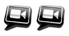 Desktop Icons Set: iChat video by