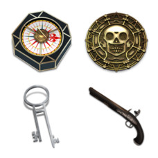 Desktop Icons Set: Pirates of the Caribbean by