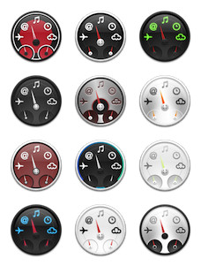 Desktop Icons Set: Dashboard Collection by