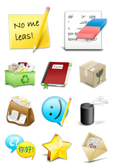 Desktop Icons Set: Email Me by 