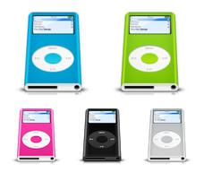 Desktop Icons Set: 2nd Generation iPod nano by