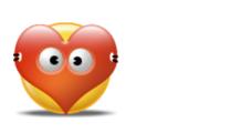 Desktop Icons Set: Valentine Smiley by