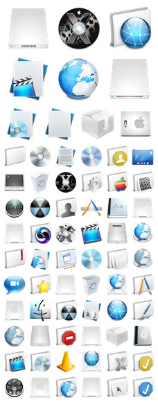 Desktop Icons Set: Micro by