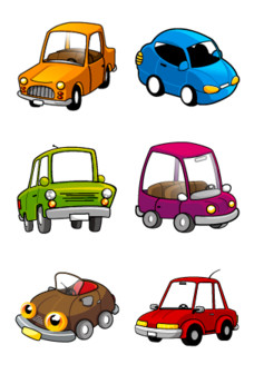 Desktop Icons Set: Carangos by