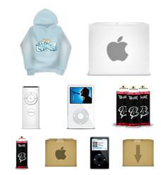 Desktop Icons Set: Random by