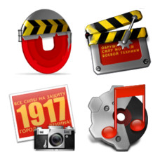 Desktop Icons Set: Soviet Patch by 