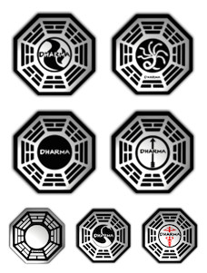Desktop Icons Set: Dharma Initiative by