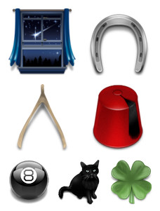 Desktop Icons Set: Superstition by