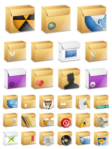 Desktop Icons Set: Yeti Box by