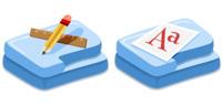Fush Folders Microsoft Windows icons