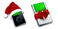 iPod Christmas Microsoft Windows icons