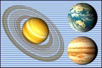 Desktop Icons Set Planets by James Doyle