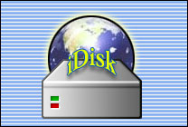 Desktop Icons Set iDisk by Rene Mollema