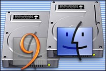 Desktop Icons Set OS Drivez by Adrian Jean