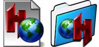 Desktop Icons Set Hotline X Folders & Docs by Carlos Reyes