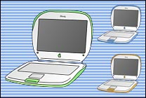 Desktop Icons Set Bluecons - The iBook by Eric Schneider