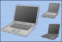Desktop Icons Set Bluecons - The Powerbook by Eric Schneider