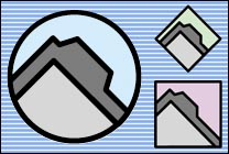 Desktop Icons Set Pastel Folders by James Meister