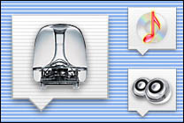 Desktop Icons Set Standard Docklings by Damon Bransom