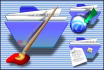 Desktop Icons Set E-1 Folders by Elroy Mazzitelli