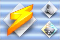 Desktop Icons Set Mac OS X Amp by Carlos Eduardo E. Pereira