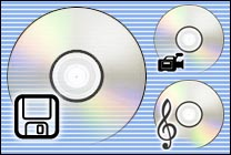 Desktop Icons Set MM CDs by Mikkel Madsen