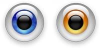 Desktop Icons Set Eye-Cons by Nathan Blake