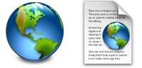 Desktop Icons Set OmniWeb 4.1 Replacement by Stephen Horlander