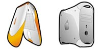 Desktop Icons Set Apple Evolution by Wessley S. Roche