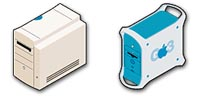 Desktop Icons Set Hardware vol. 1 by Helmer
