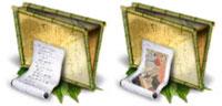 Desktop Icons Set Zen by Suki