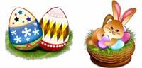 Desktop Icons Set Easter in Spring by Wati Larke