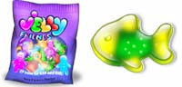 Desktop Icons Set Jelly Friends by Julia Nikolaeva
