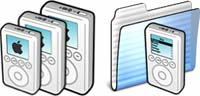 Desktop Icons Set iPod 3G by Helmer