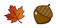 Desktop Icons Set Autumn by Kristen Magee